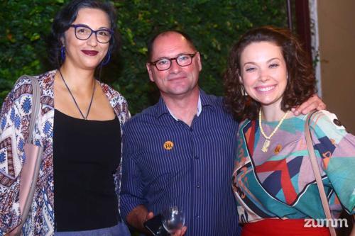 Sílvia Pereira, José Manuel Lourenço e Daniela Penha