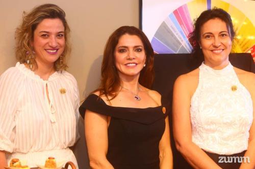 Viviane Mendonça, Dulce Neves e Adriana Silva