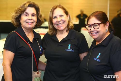 Ana Maria Roxo, Angela Lemos e Célia Jorge