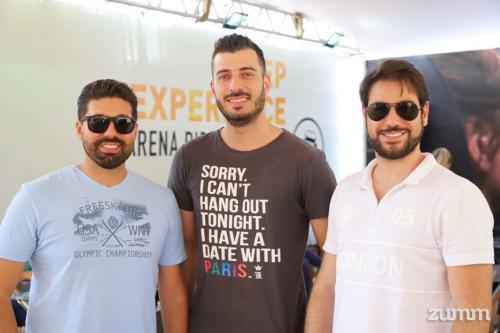 Douglas Mello, Tiago Casanova e Rafael Ramadan