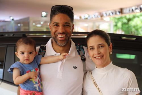 Maria Flor, Rafael de Paula e Giovana Boca