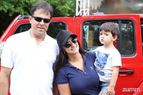 Renato Pereira, Maria Laura e Leonardo Benedetti