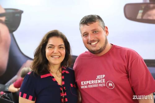 Rosa Donato e Marcos Astragalli
