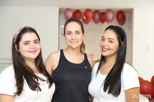 Ana Approbato, Camila Merlo e Mariana Carolina Silva Castão