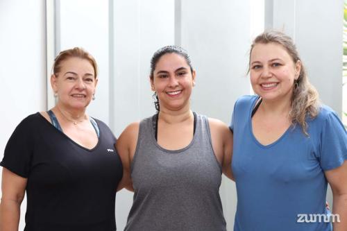Catarina Murakami, Nilza Magalhães e Carla Comarella