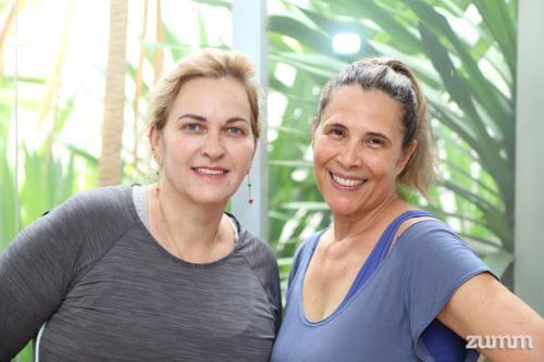 Cláudia Sandalo e Silvana Gual