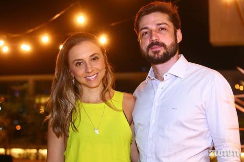 Mariana Curi e Fernando Adarti
