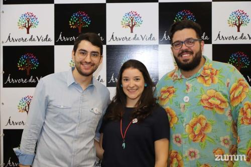 Murilo Machado Vaz, Isabela Salomão e Orlando Ferreira