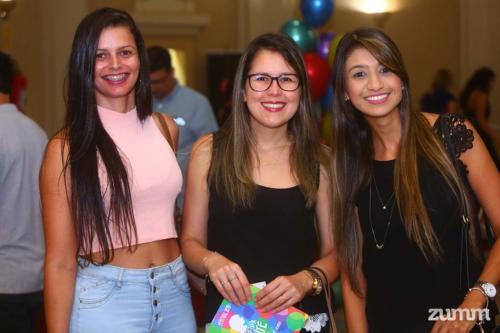 Bruna Ferreira, Renata Stocco e Janaína Sertori