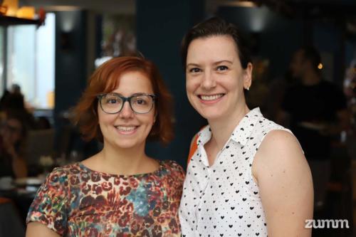 Andreia Nogueira e Ananda Vendrami