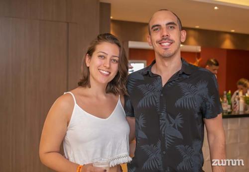 Ana Carolina Carvalho e Lucas Barreira