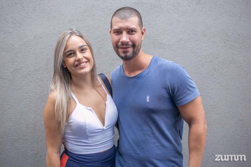 Ethel Teixeira Zamproni e José Roberto Lopes