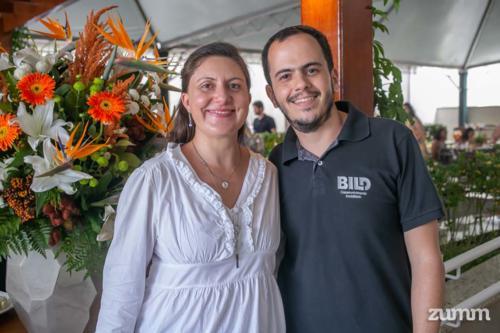 Graziele Ambrosio e Fábio Gama