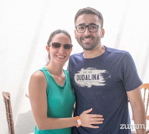 Patricia Dacanal e Lucas Fabrio