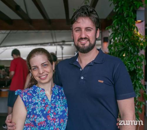 Renata Valentino e Carlos Felipe