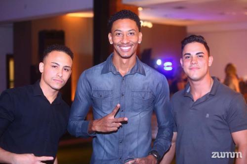 Lucas Santos, Guilherme Sodré e Silas Victor