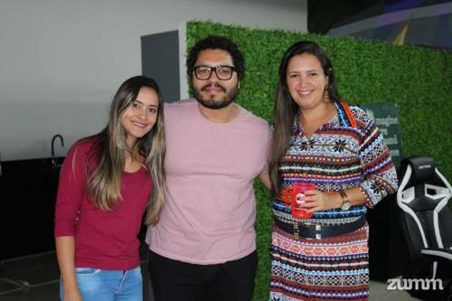 Isabela Lara, Fernando Augusto e Aline Esteves