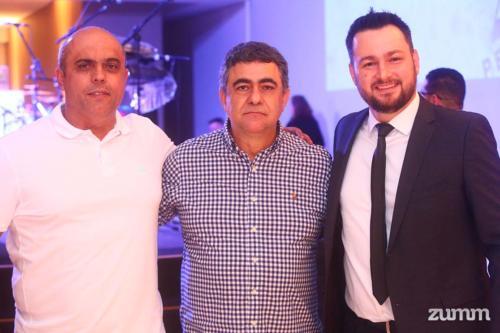 Luiz Fabiano, Ricardo Telles e Rodrigo camargo
