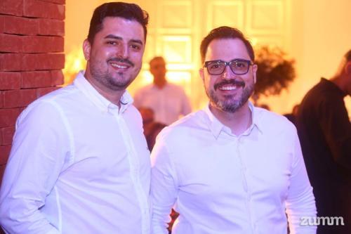 Marcelo Cassius e Rafael Delibo