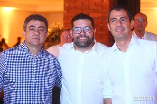 Ricardo Telles, Lelis Caldeira e Leonel Mafud