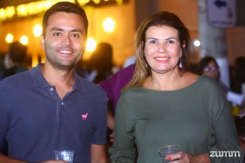 Augusto Collaço e Mariza Sales